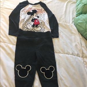 Mickey Mouse Matching Outfit NWOT